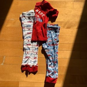 Joe Fresh pyjama set Firefighter 👩‍🚒 boy toddler